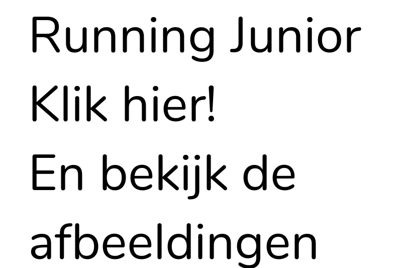 Running Junior