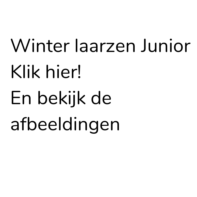 Winter laarzen Jr