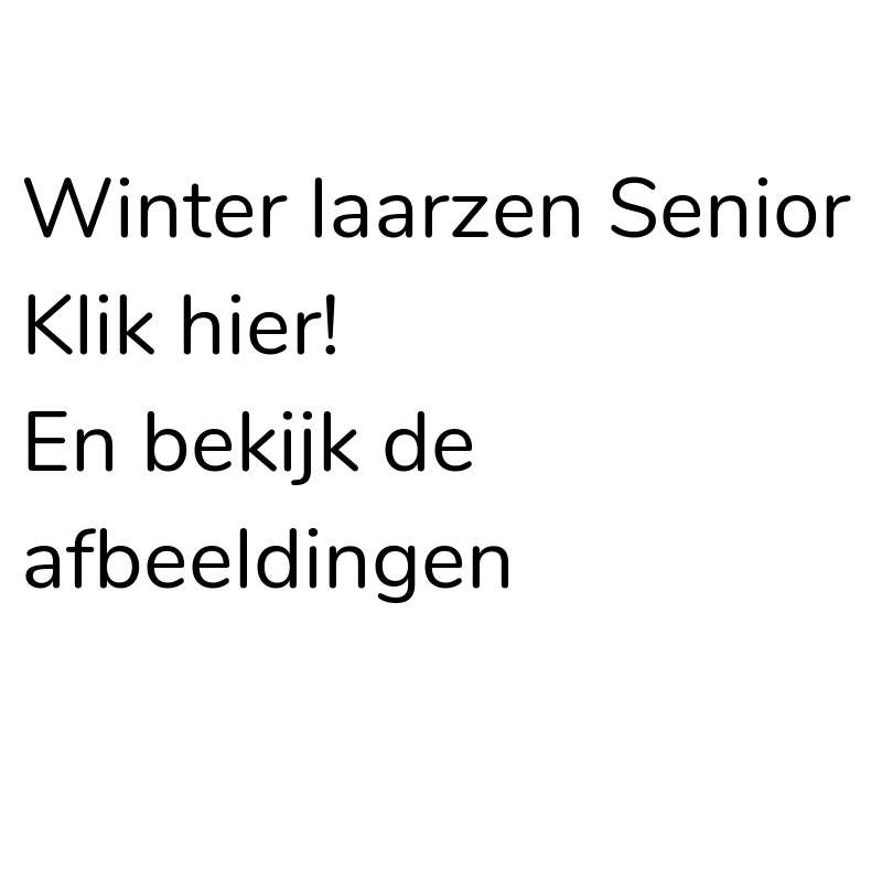 Winter laarzen